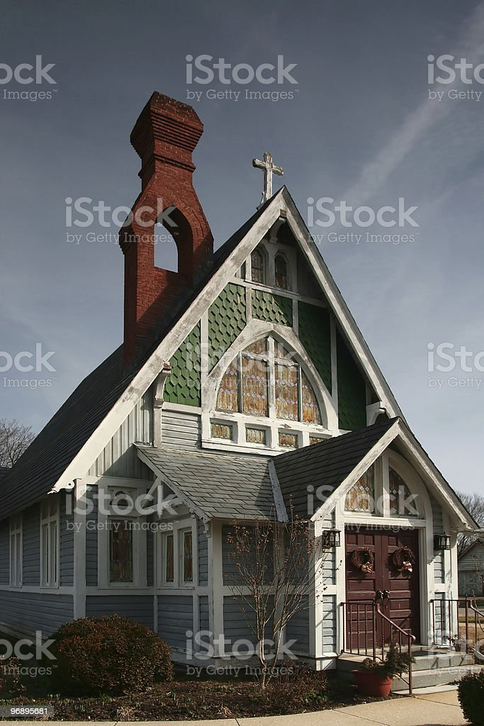 American Gothic Church royalty-free stock photo