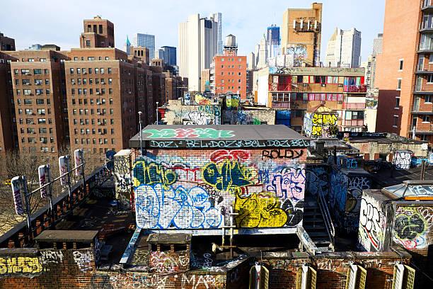 American Graffiti stock photo