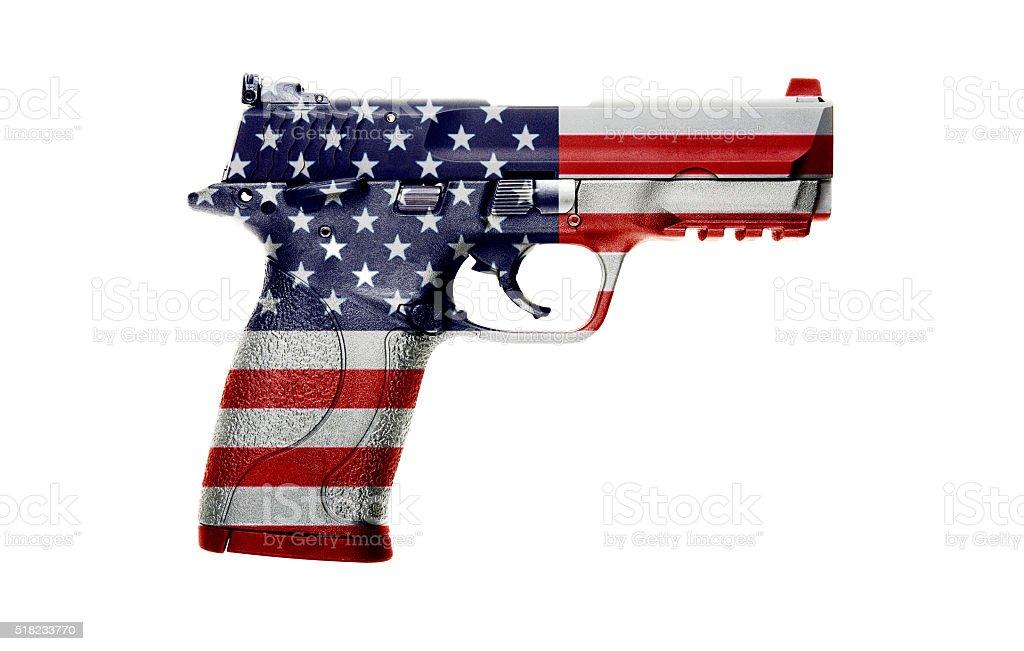 American gun stock photo