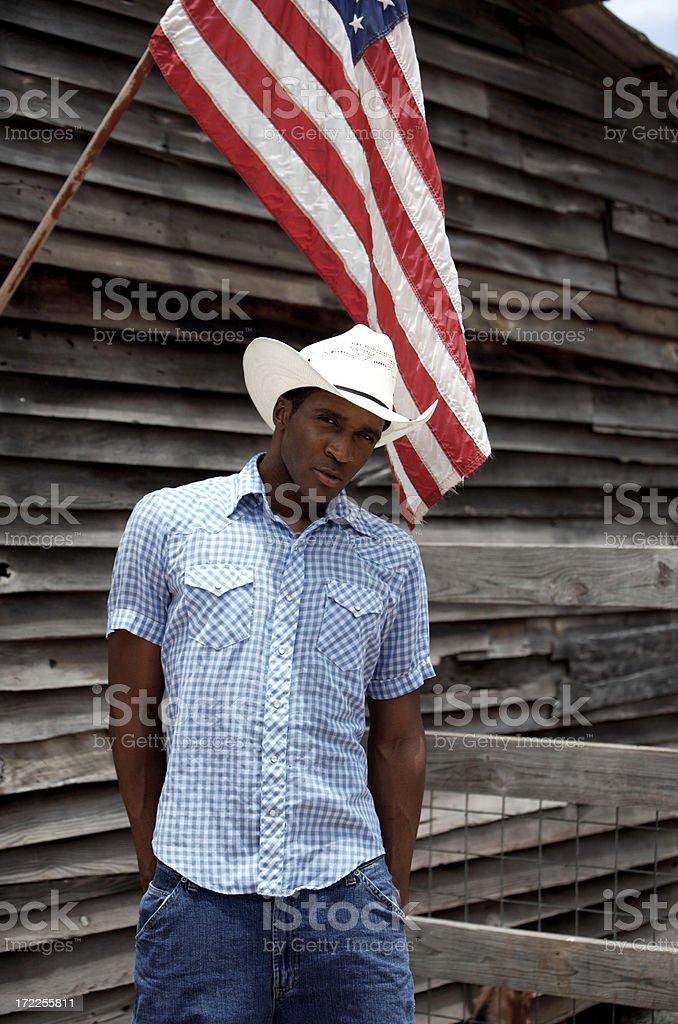 American guy looks into camera royalty-free stock photo