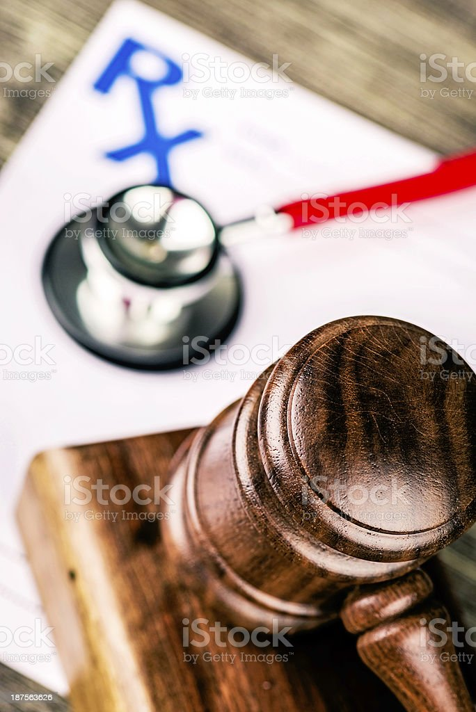American Healthcare Malpractice stock photo