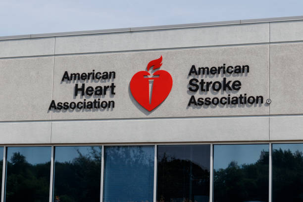 American Heart Association and American Stroke Association local office. The AHA is a non-profit organization that funds cardiovascular medical research I Indianapolis - Circa September 2019: American Heart Association and American Stroke Association local office. The AHA is a non-profit organization that funds cardiovascular medical research I aha stock pictures, royalty-free photos & images