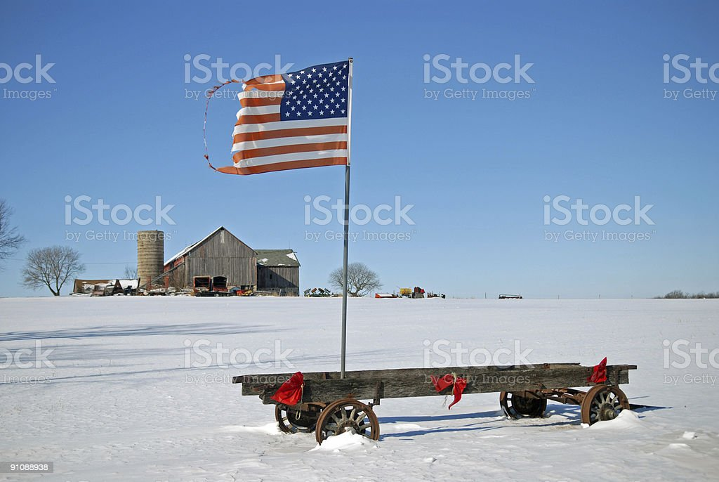 American Heritage at it's Best stock photo