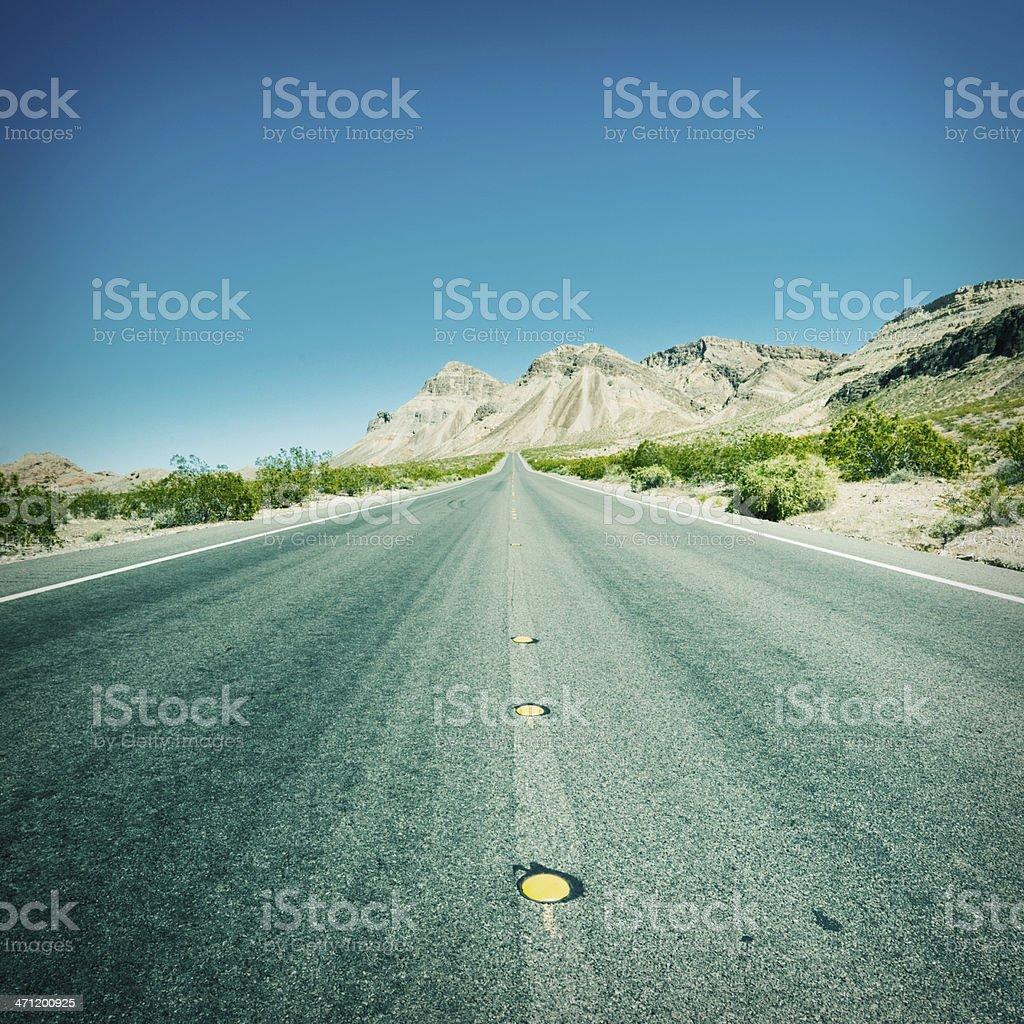 American Highway USA Series 13 royalty-free stock photo