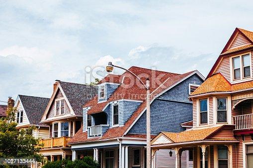 American homes - Milwaukee, Lower East Side. Wisconsin, USA