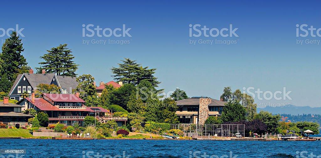 American Homes stock photo