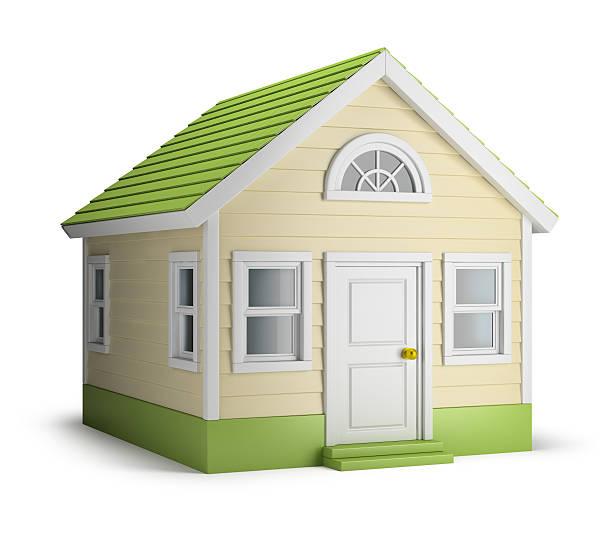 American house stock photo
