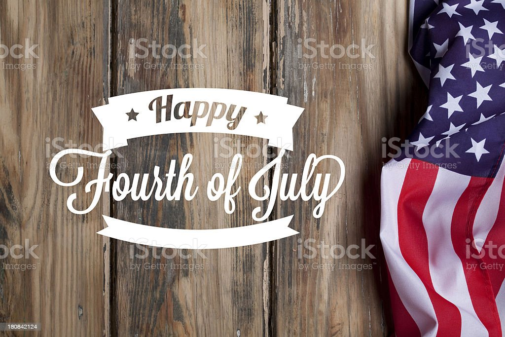 American Independence background stock photo