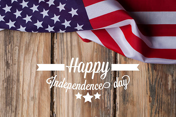 american independence background - independence day stock photos and pictures