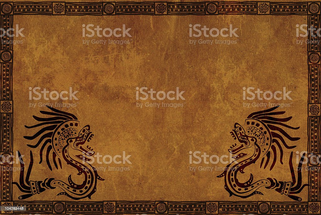 American Indian national patterns royalty-free stock photo