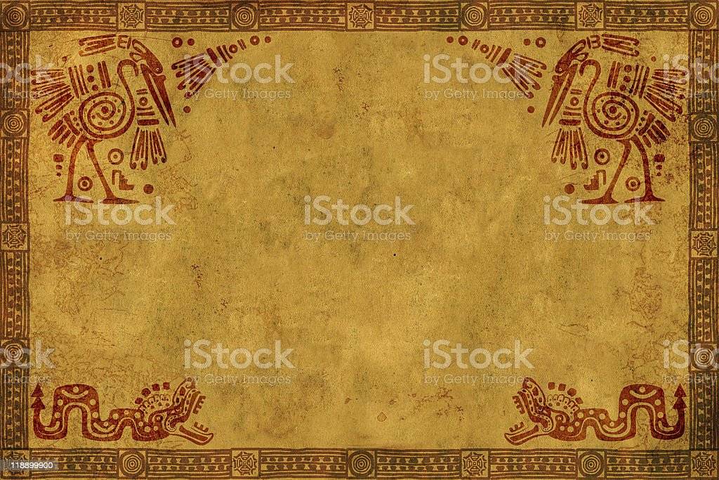 American Indian national patterns stock photo