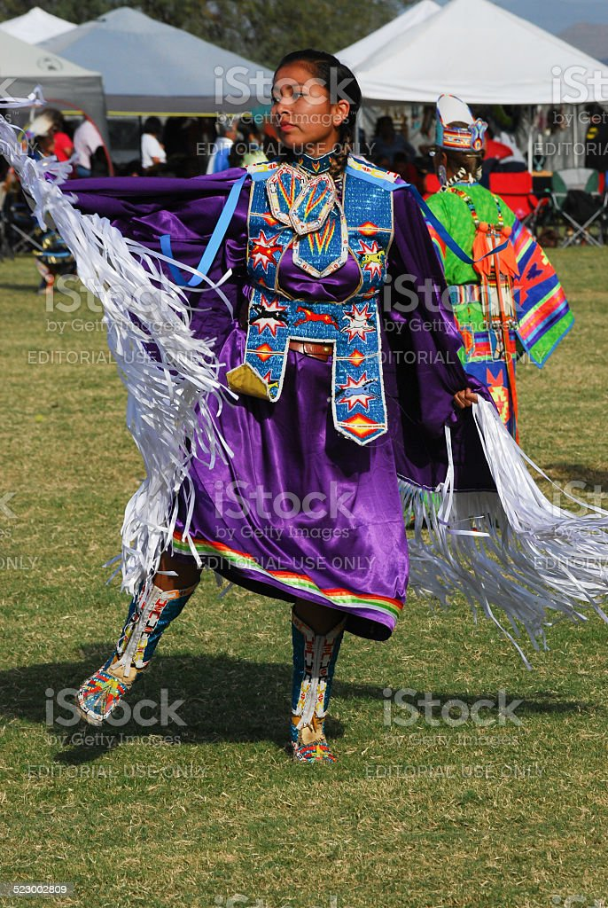 American Indian Pow Wow stock photo