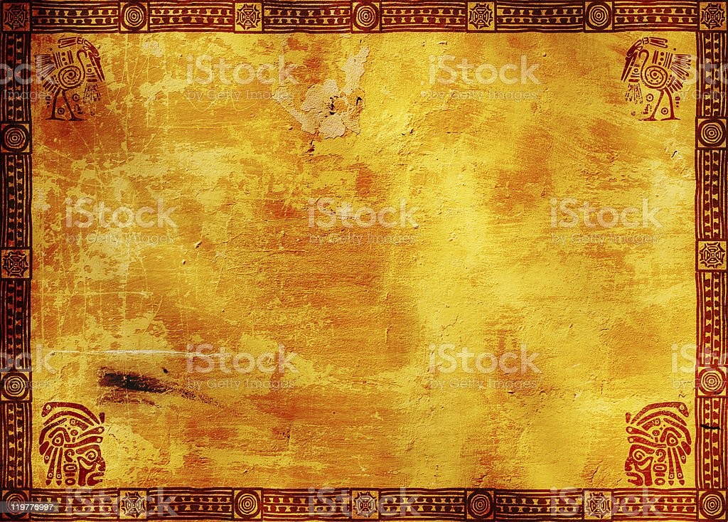 American Indian traditional patterns stock photo