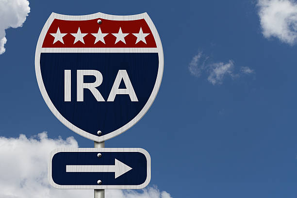 american ira highway road sign - ira stock photos and pictures
