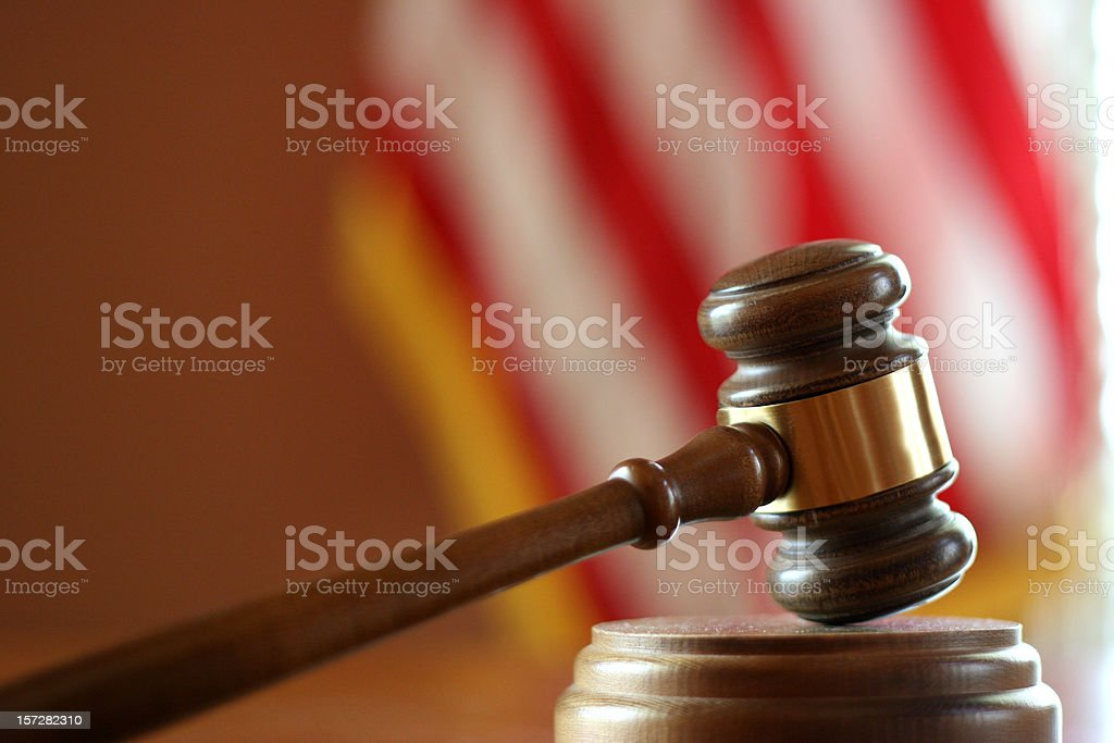 American Justice 2 stock photo