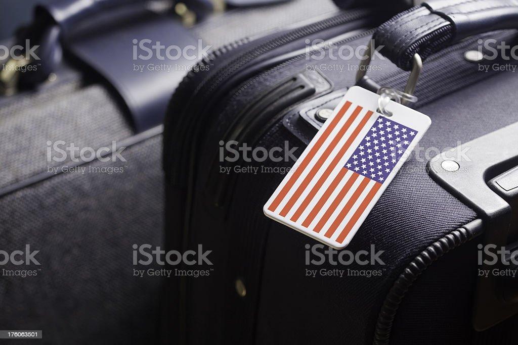 American Luggage stock photo