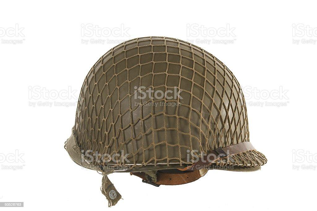 American M1 Helmet stock photo