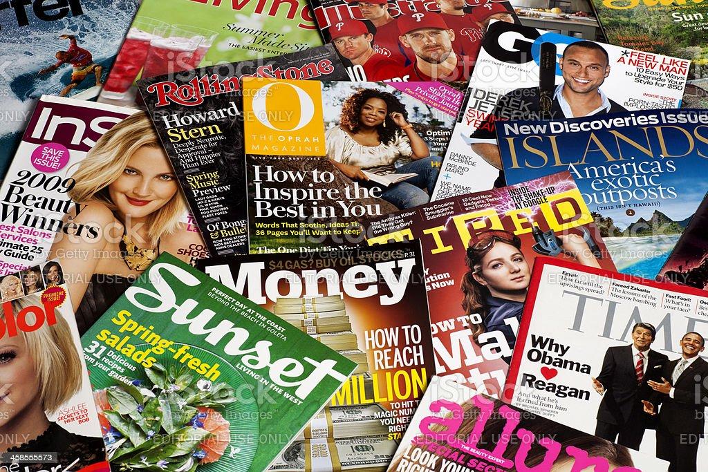 American Magazines Stock Photo - Download Image Now - iStock