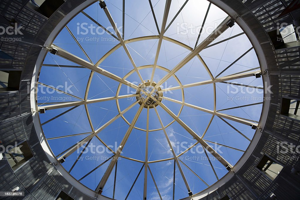 American Mall Dome royalty-free stock photo