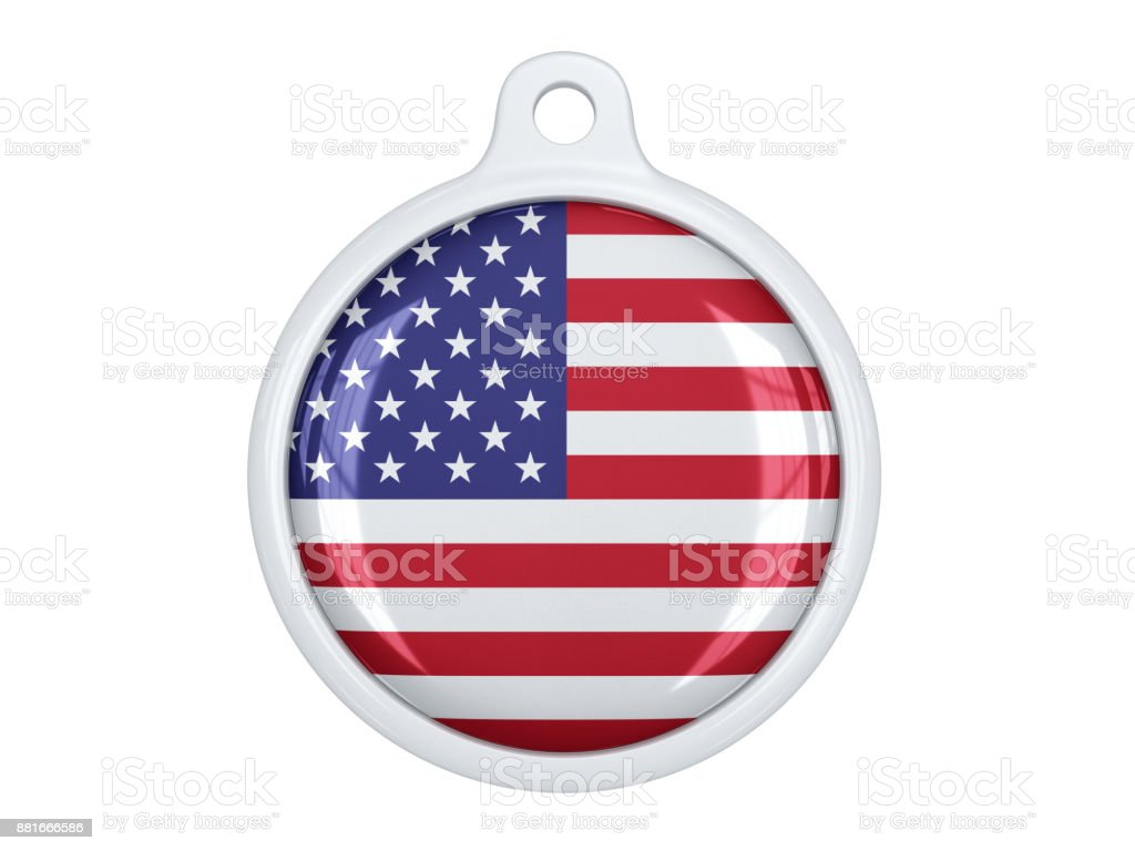 American medal stock photo