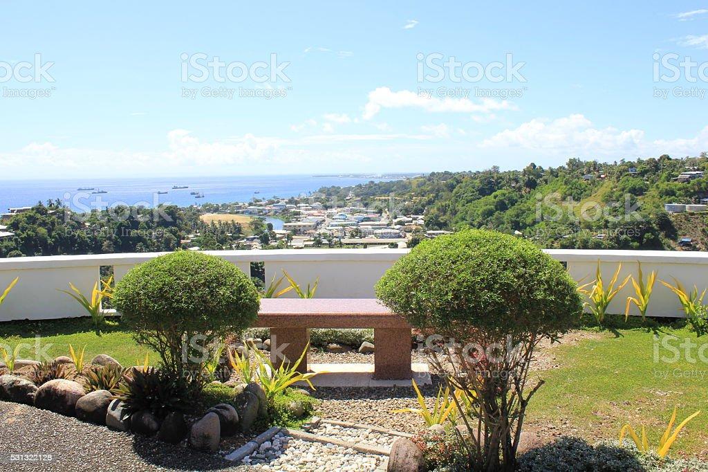 American Memorial auf Guadalcanal - Lizenzfrei Denkmal Stock-Foto