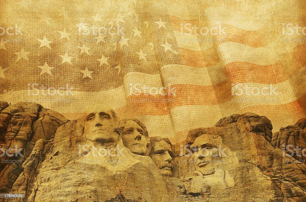 American Memorial Background stock photo