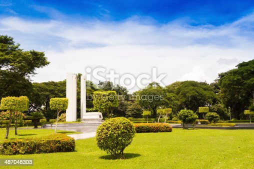 The Manila American Cemetery and Memorial is located in Fort Bonifacio, Taguig City, Metro Manila, Philippines