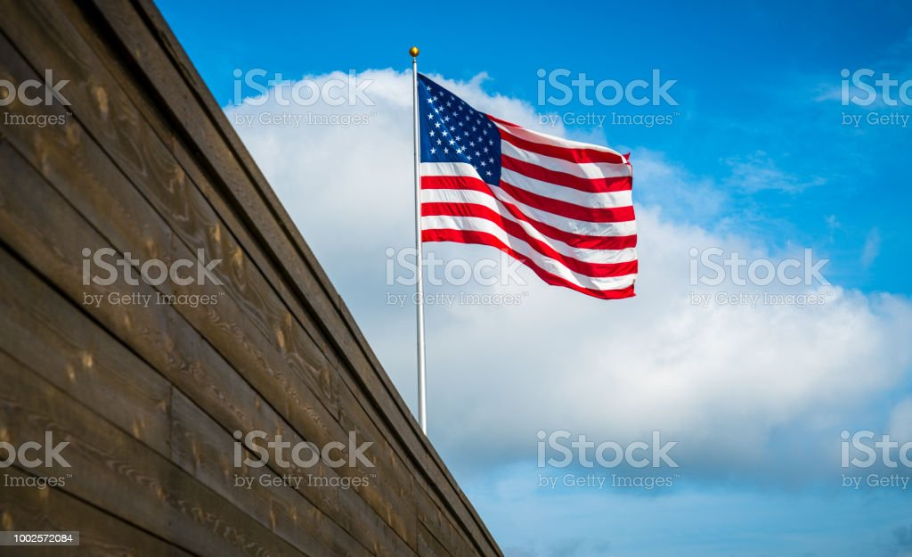 American Mexican Border stock photo