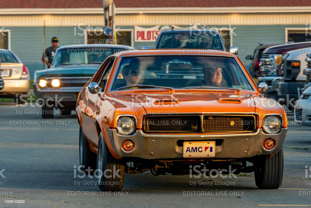 1969 American Motors Javelin Muscle Car Stock Photo More Pictures