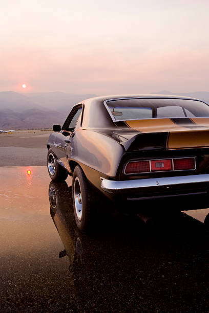 American Muscle Car  sports car stock pictures, royalty-free photos & images