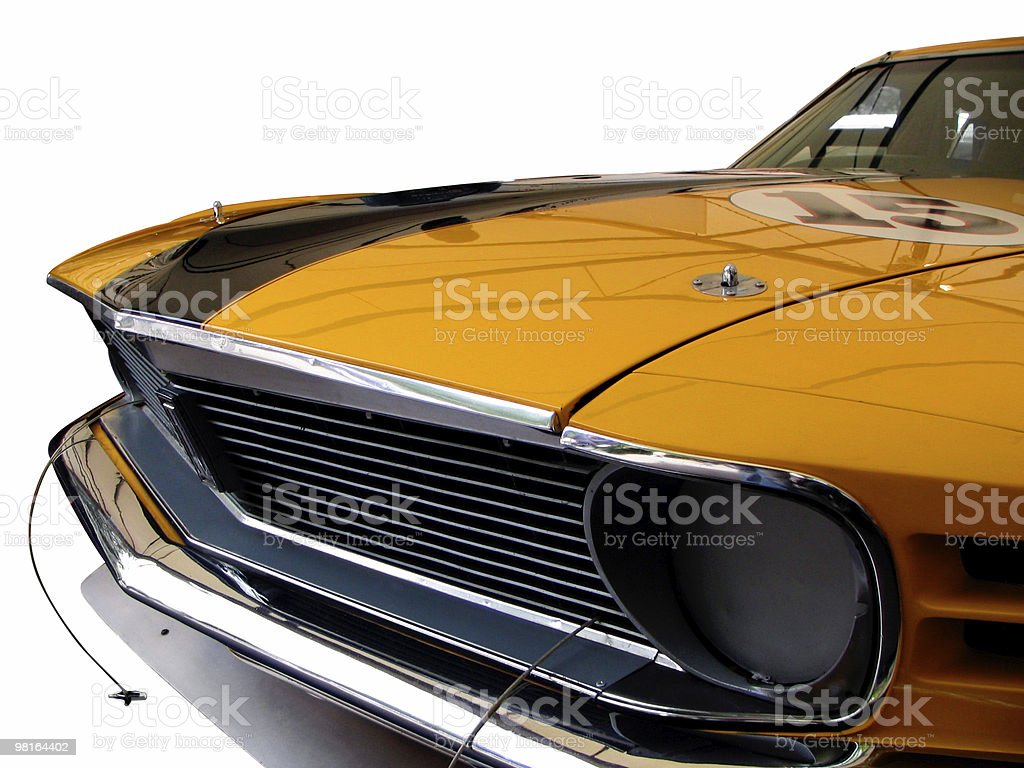 American Muscle Car royalty-free stock photo