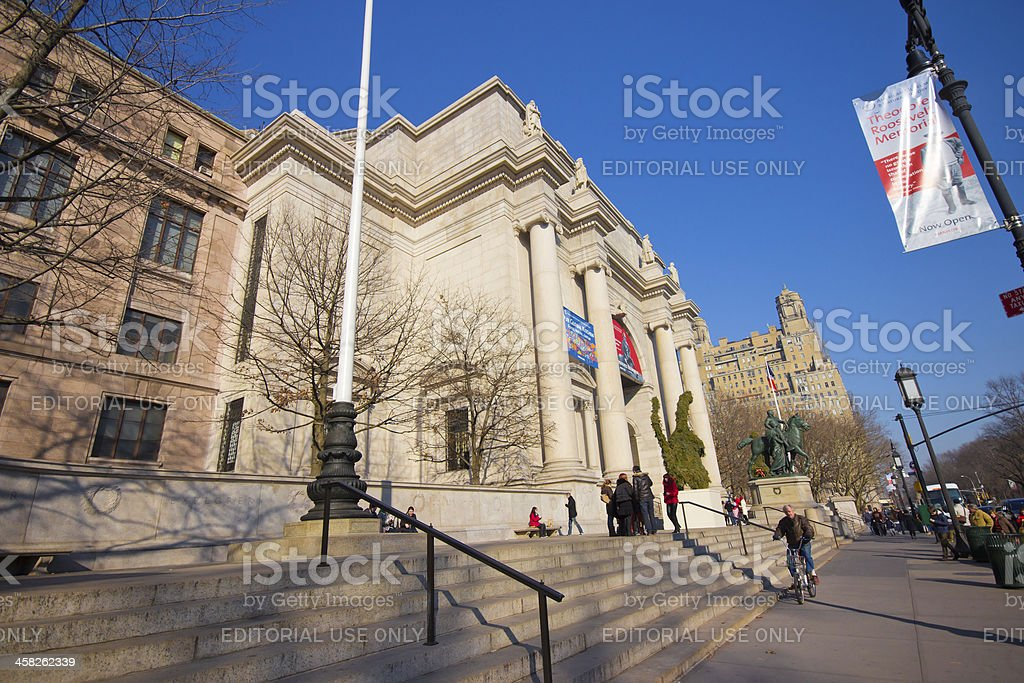 Museo Storia Naturale New York.Museo Americano Di Storia Naturale Di New York Fotografie Stock E
