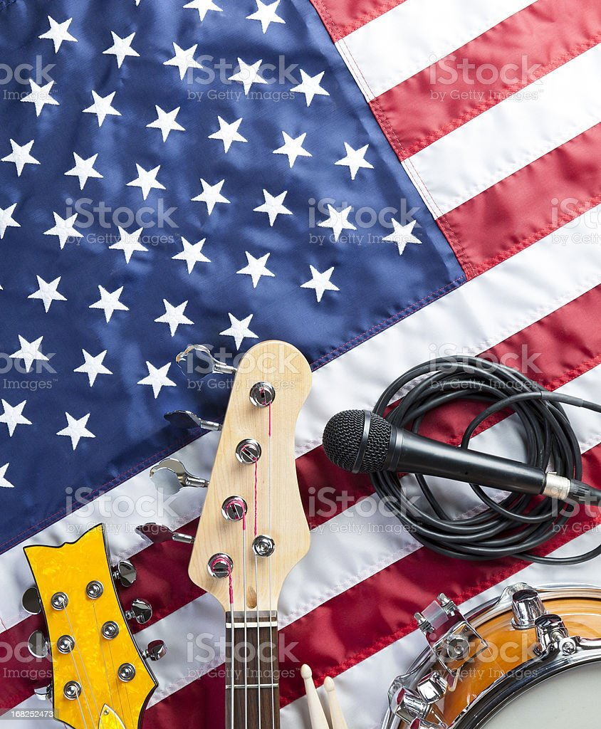 American Music stock photo