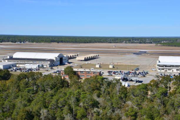 American Naval Training base in Pensacola, Florida. – Foto