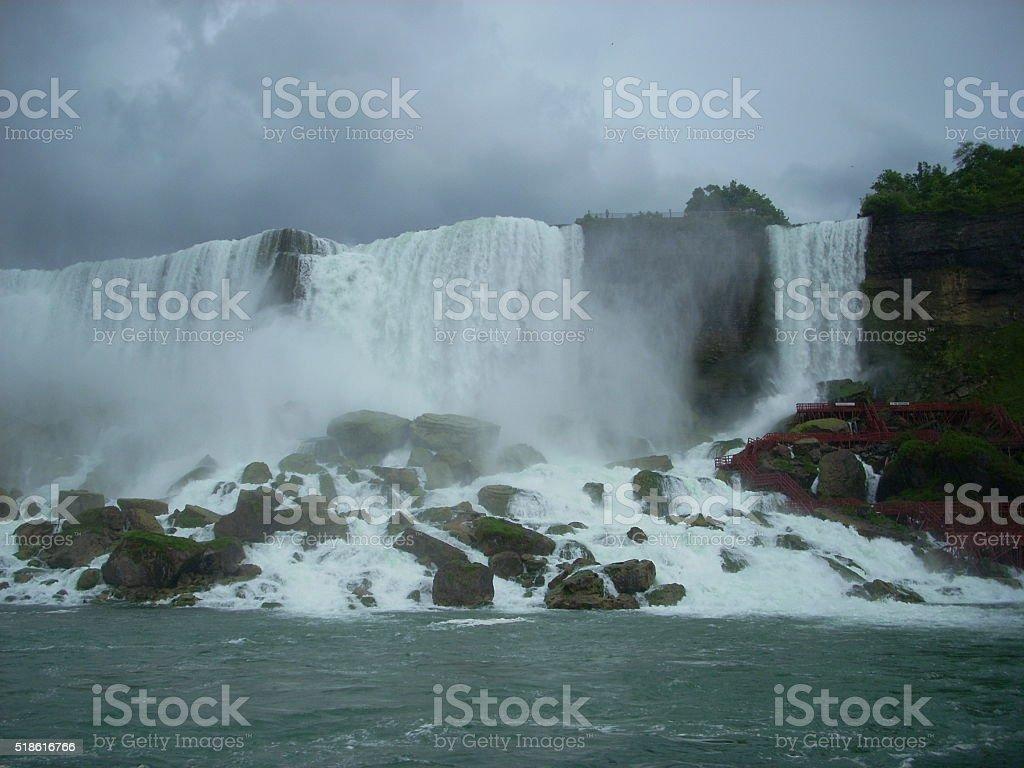 American Niagara Falls stock photo