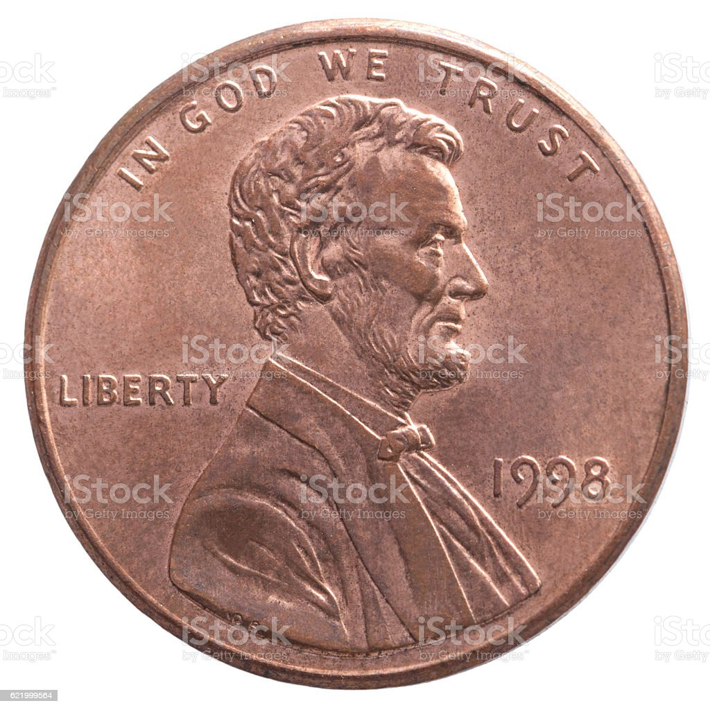 American One Cent Coin Stock Photo Istock