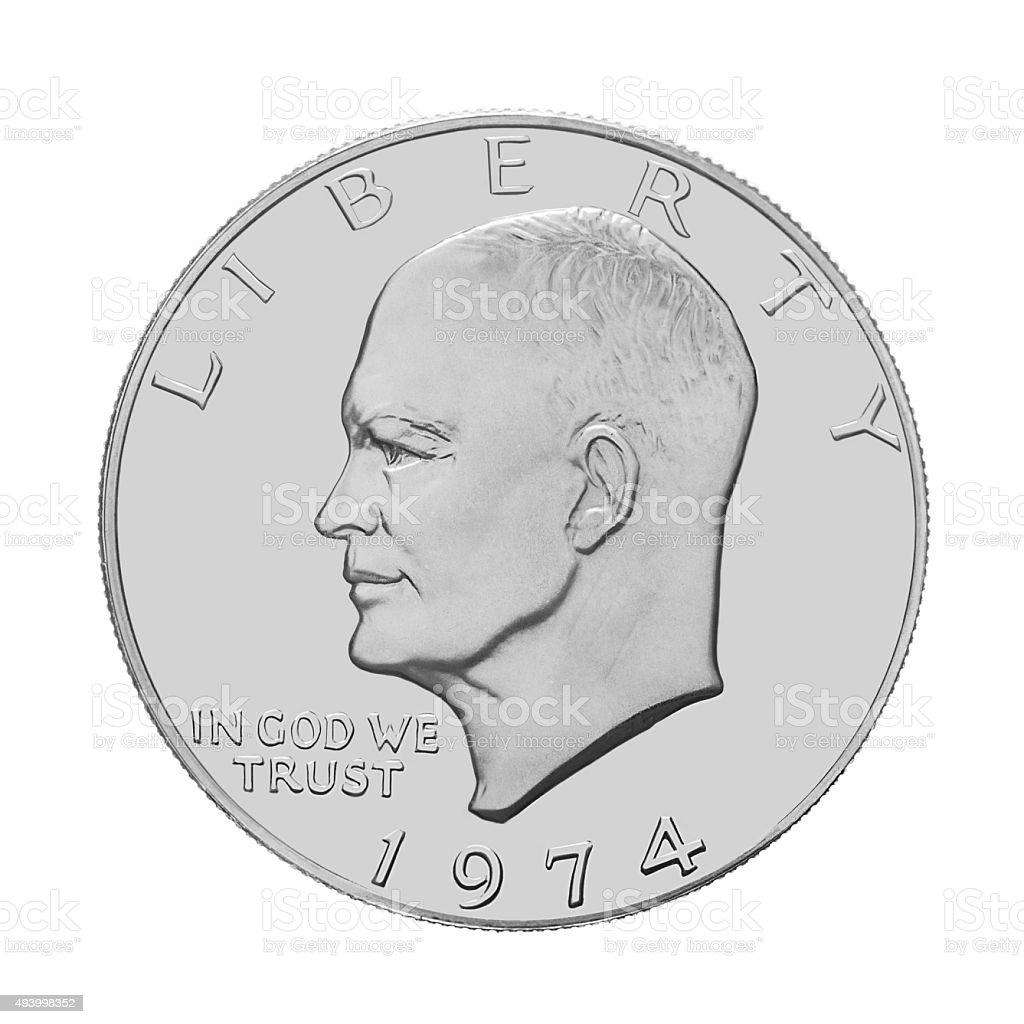 American one dollar stock photo