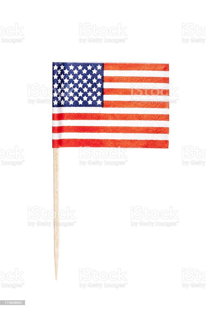 American paper flag - Royalty-free Afbeelding Stockfoto