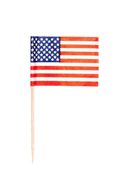 American paper flag foto