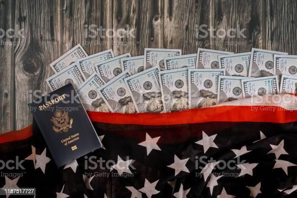 American passport close up american dollars money of usa flag picture id1187517727?b=1&k=6&m=1187517727&s=612x612&h=bqsu d8mtakg6etddjqaalowq1rsn8rornmxp3lzgts=