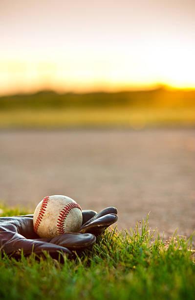 American Pastime—Baseball stock photo