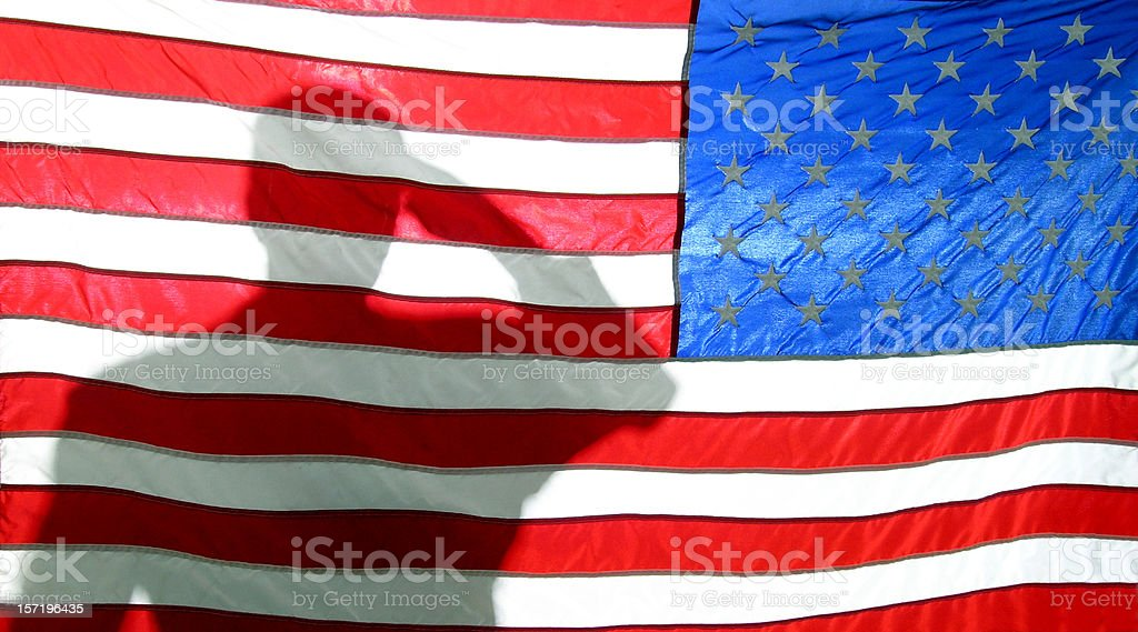 American Patriot royalty-free stock photo
