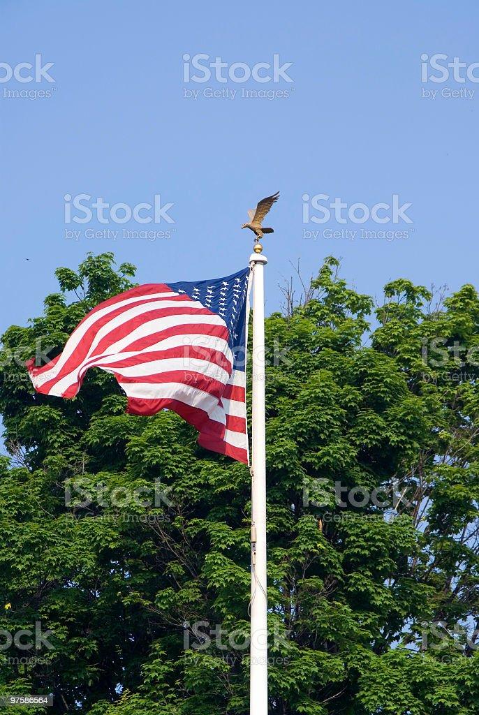 American Patriotisme photo libre de droits