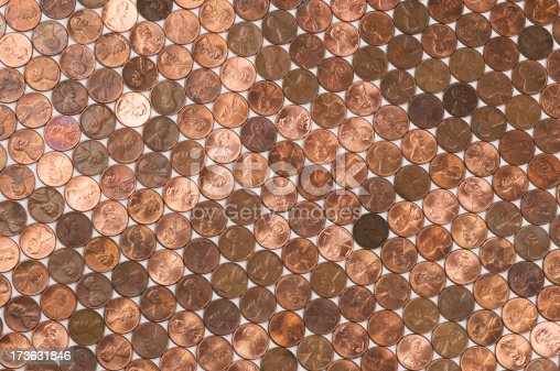 istock American Penny Coin Full Frame Background Flat 173631846