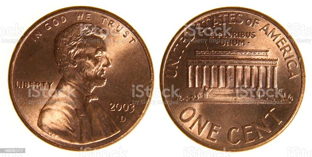 American Penny stock photo