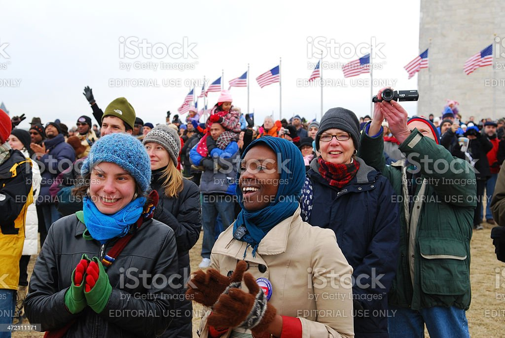 American people stock photo