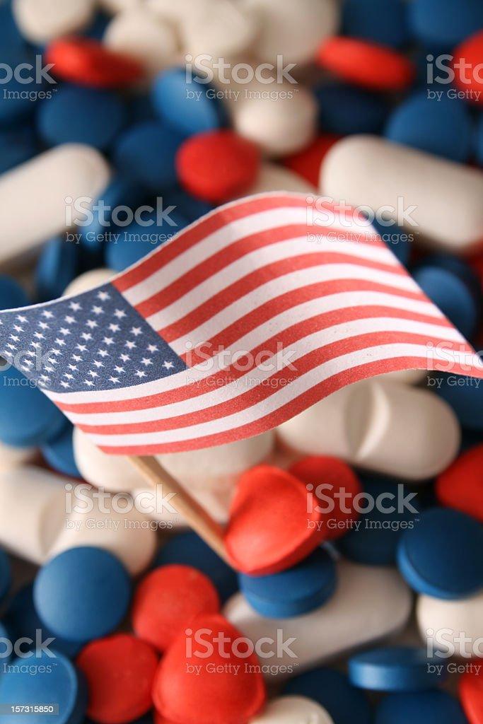 American pharma royalty-free stock photo