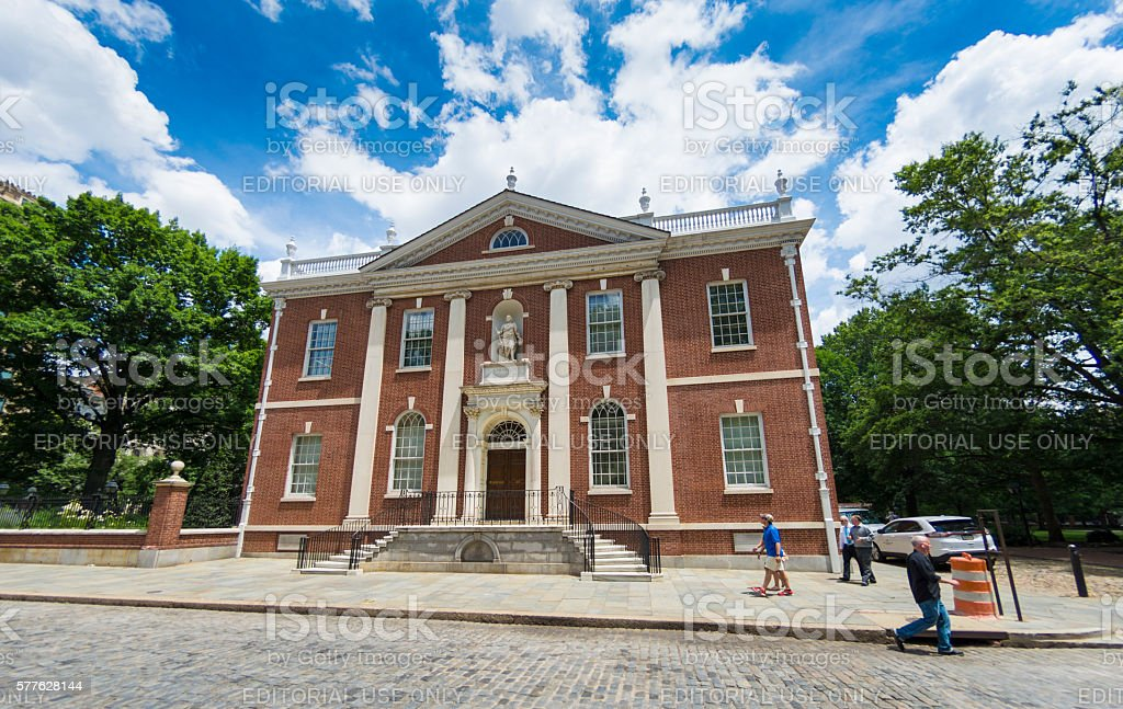 American Philosophical Society Exterior stock photo