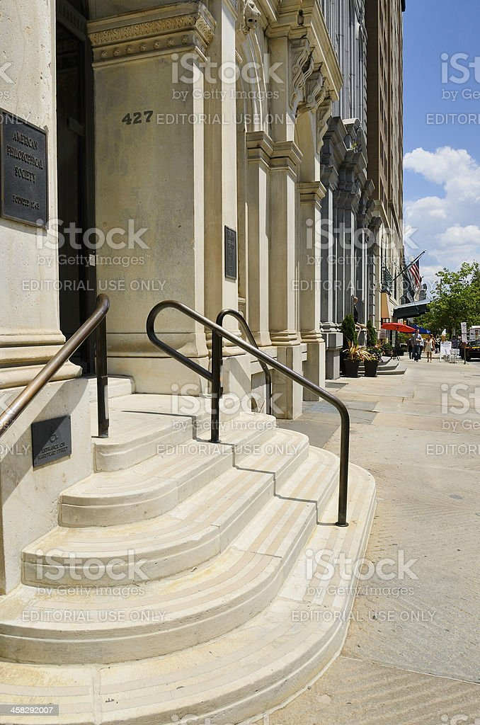 American Philosophical Society, Philadelphia royalty-free stock photo