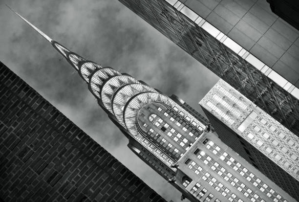 americana - chrysler building stock photos and pictures